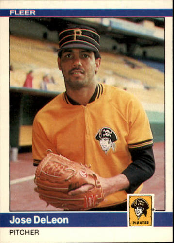 Photo of 1984 Fleer #248 Jose DeLeon RC