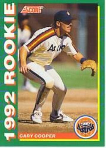 Photo of 1992 Score Rookies #28 Gary Cooper