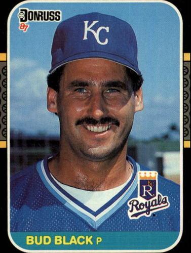 Photo of 1987 Donruss #404 Bud Black