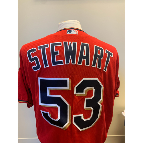 Photo of Minnesota Twins - 2019 Game-Used Spring Training Jersey - Kohl Stewart
