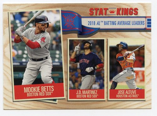 Photo of 2019 Topps Big League #359 Jose Altuve/J.D. Martinez/Mookie Betts