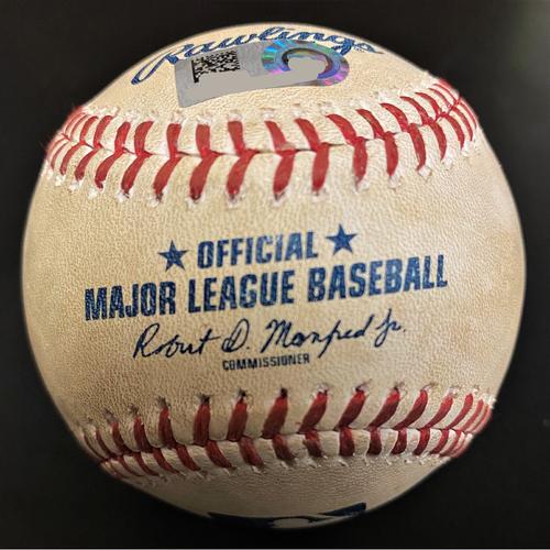 Photo of Salvador Perez Kansas City Royals Double Baseball (MLB AUTHENTICATED)