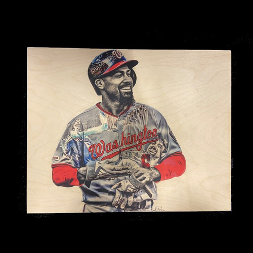 Photo of Washington Nationals Philanthropies Fall Ball Auction: Original Anthony Rendon Painting