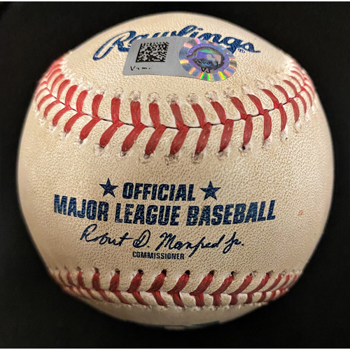 Photo of Game-Used Baseball:  Tarik Skubal Detroit Tigers MLB Debut Pitched Ball (MLB AUTHENTICATED)
