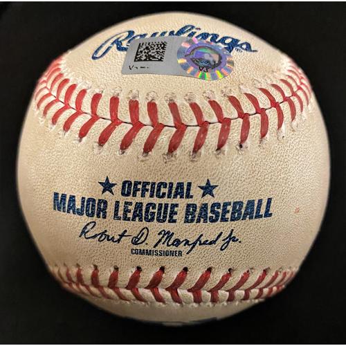 Game-Used Baseball:  Tarik Skubal Detroit Tigers MLB Debut Pitched Ball (MLB AUTHENTICATED)