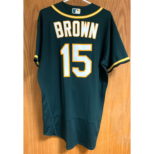 Photo of Seth Brown Game-Used 2020 Jersey