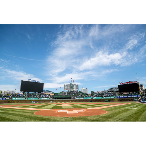 """Photo of Cubs Experience -- Boog's Box -- Attend a Game with Cubs Play By Play Broadcaster Jon """"Boog"""" Sciambi on 9/4/21 -- Includes 5 Club Box Infield Tickets Total"""