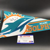 NFL - Dolphins Hunter Long Signed Pennant