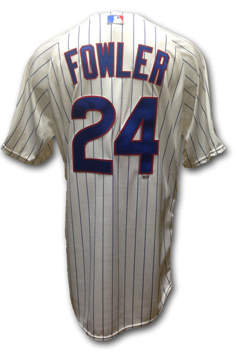 on sale 8cb32 99132 MLB Auctions | Dexter Fowler Game-Used Jersey - Opening Day ...