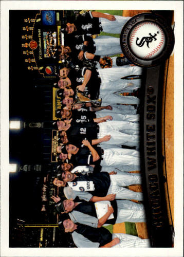 Photo of 2011 Topps #161 Chicago White Sox TC