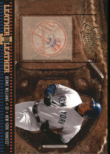 Photo of 2004 Leather and Lumber Leather in Leather #31 Bernie Williams SH
