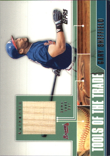 Photo of 2002 Topps Traded Tools of the Trade Relics #GS Gary Sheffield Bat C