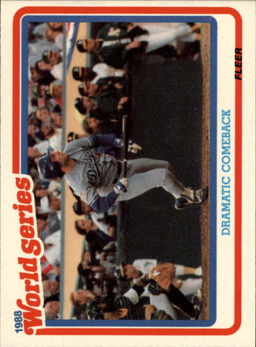 Photo of 1989 Fleer Glossy #WS4 Mike Scoscia