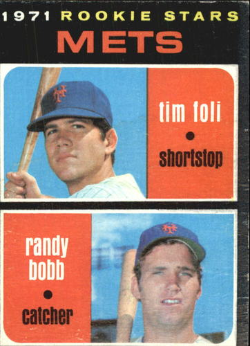 Photo of 1971 Topps #83 Rookie Stars/Tim Foli RC/Randy Bobb