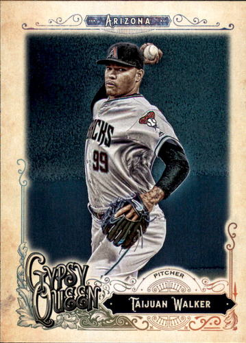 Photo of 2017 Topps Gypsy Queen #13 Taijuan Walker