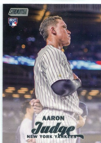 Photo of 2017 Stadium Club #64 Aaron Judge Rookie Card