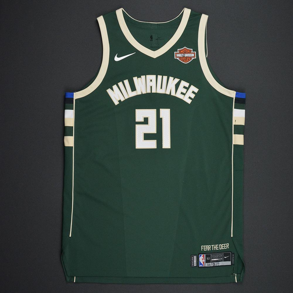 Tony Snell - Milwaukee Bucks - Kia NBA Tip-Off 2017 - Game-Worn Jersey