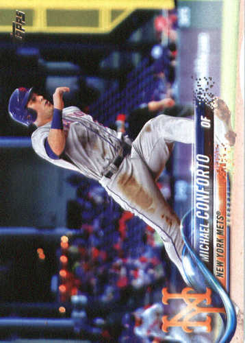 Photo of 2018 Topps #88 Michael Conforto