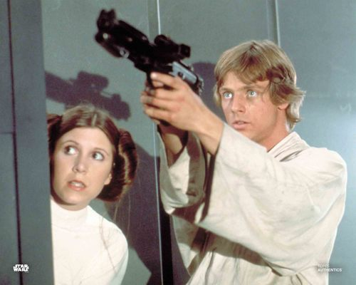 Luke Skywalker and Princess Leia Organa