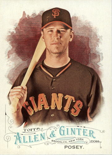 Photo of 2016 Topps Allen and Ginter #189 Buster Posey