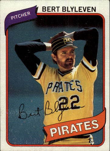 Photo of 1980 Topps #457 Bert Blyleven