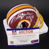 HOF - Redskins Bobby Beathard Signed Mini Helmet
