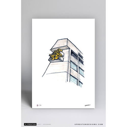 Photo of Rogers Centre Sketch - Limited Edition Print 2/42 by S. Preston