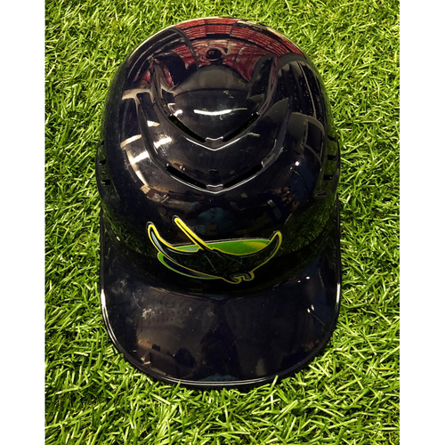 Photo of Team Issued Devil Rays Catcher's Helmet: Nick Ciuffo