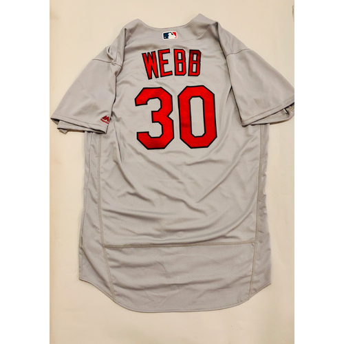 Photo of 2019 Mexico Series Game Used Jersey - Tyler Webb Size 48 (St. Louis Cardinals)