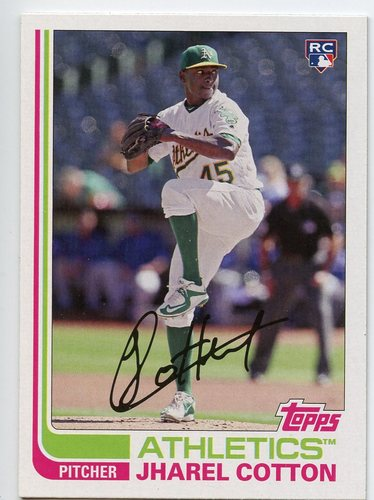 Photo of 2017 Topps Archives #151 Jharel Cotton RC