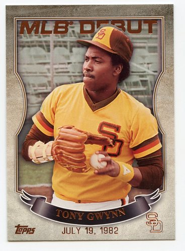 Photo of 2016 Topps MLB Debut Bronze #MLBD2-5 Tony Gwynn