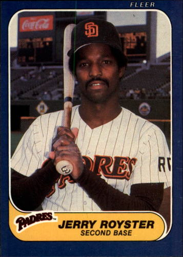 Photo of 1986 Fleer #333 Jerry Royster