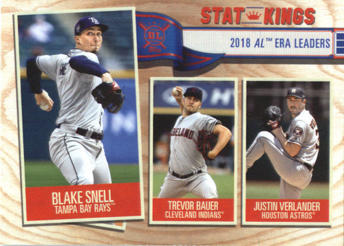 Photo of 2019 Topps Big League #363 Justin Verlander/Trevor Bauer/Blake Snell