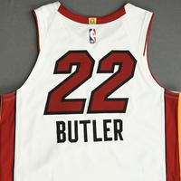 Jimmy Butler - Miami Heat - Game-Worn Association Edition Jersey - Scored 22 Points - 2nd Half - 2019-20 NBA Season Restart