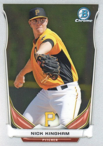 Photo of 2014 Bowman Chrome Prospects Series 2 #BCP27 Nick Kingham