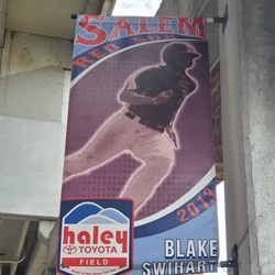 Photo of Blake Swihart Concourse Banner