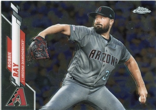 Photo of 2020 Topps Chrome #192 Robbie Ray