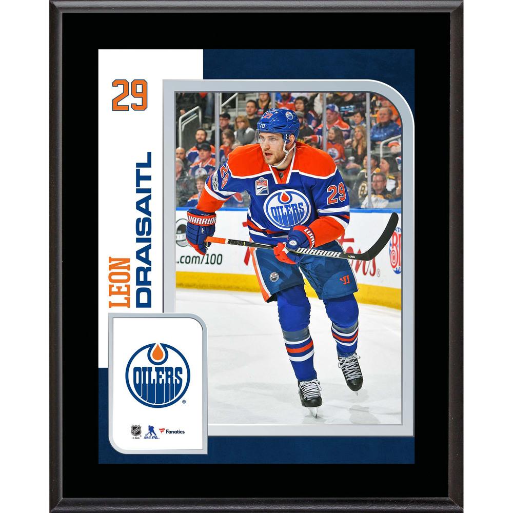 Leon Draisaitl Edmonton Oilers 10.5