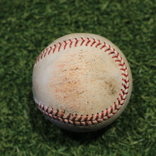 Photo of Game-Used Baseball: Evan Marshall 145th Career Strikeout (CWS @ KC 9/3/20)