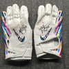 Crucial Catch - Falcons Keith Smith Signed Game Used Gloves (10/20/19)
