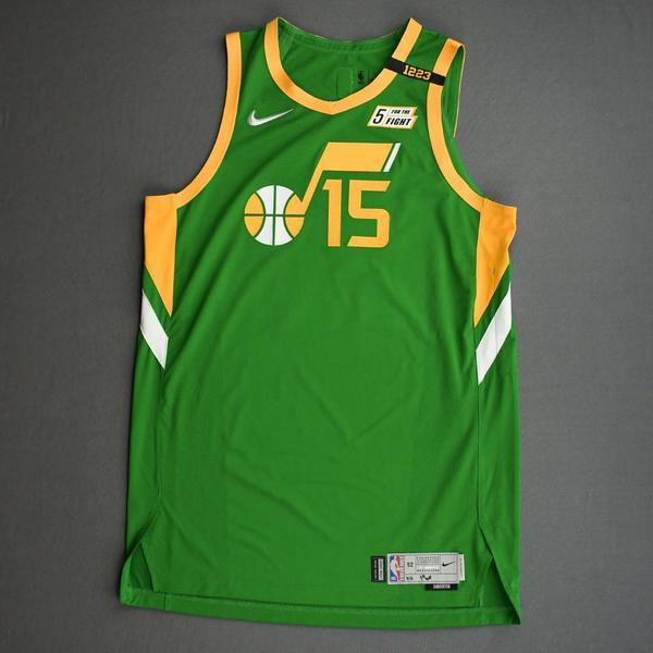 Image of Derrick Favors - Utah Jazz - Game-Worn Earned Edition Jersey - 1st Half - 2020-21 NBA Season