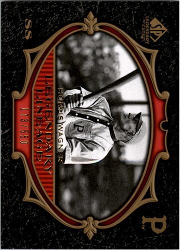 Photo of 2007 SP Legendary Cuts #181 Honus Wagner LL