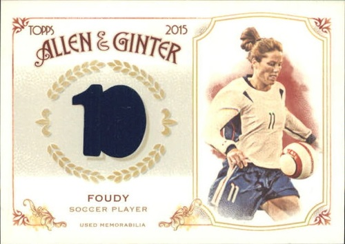 Photo of 2015 Topps Allen and Ginter Relics #FSRBJFO Julie Foudy B