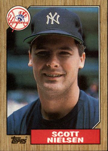 Photo of 1987 Topps #57 Scott Nielsen