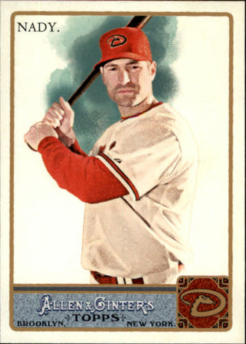 Photo of 2011 Topps Allen and Ginter #213 Xavier Nady