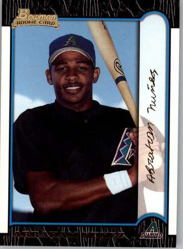 Photo of 1999 Bowman Gold #394 Abraham Nunez