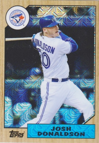 Photo of 2017 Topps '87 Topps Silver Pack Chrome #87JD Josh Donaldson