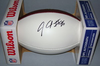 NFL - BENGALS CARLOS DUNLAP SIGNED PANEL BALL