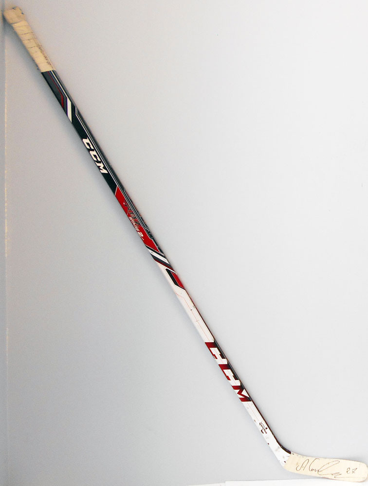 #27 Alex Galchenyuk Game Used Stick - Autographed - Montreal Canadiens