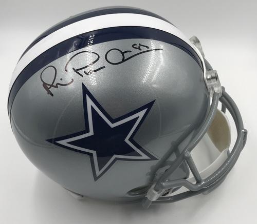 Photo of Michael Irvin Autographed Dallas Cowboys Football Helmet
